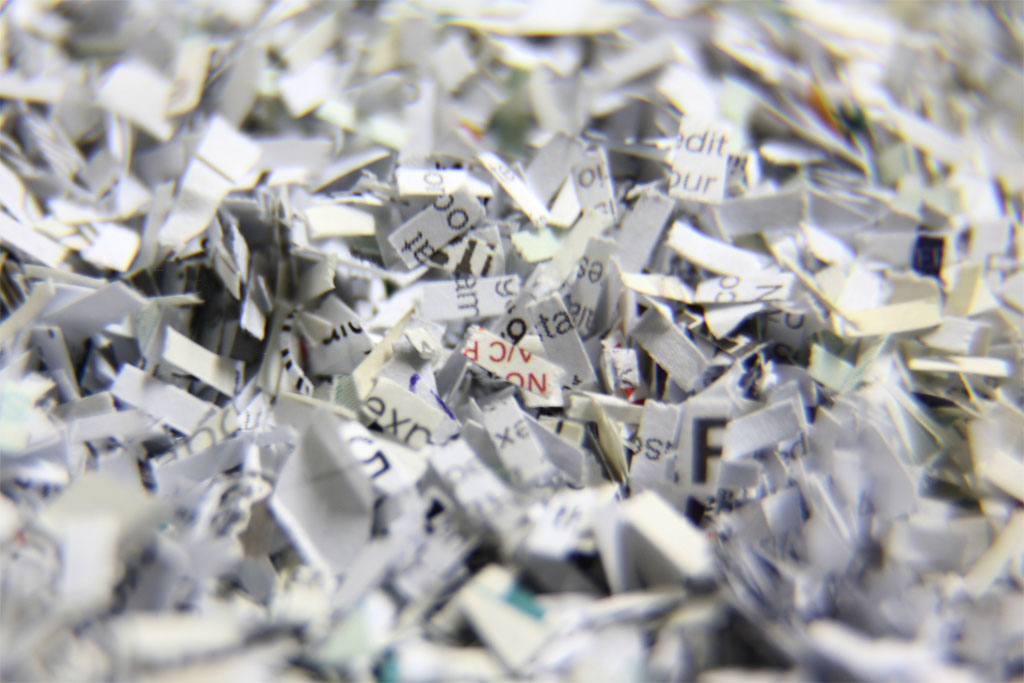 shredder confetti