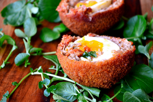 Chorizo Scotch Egg Recipe
