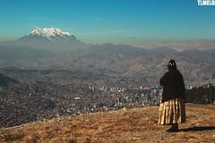 """""""Watching"""" - Illimani Mount - La Paz - Bolivia"""