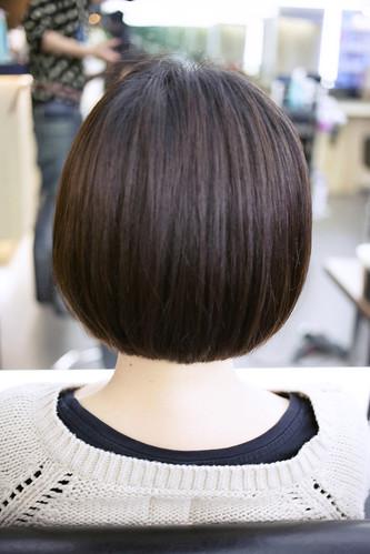 東區剪中短髮SAM