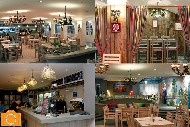 Brasserie Cicou interiors