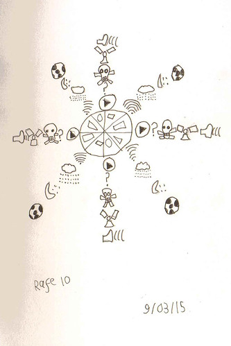 prompt60 #2 doodle mandala