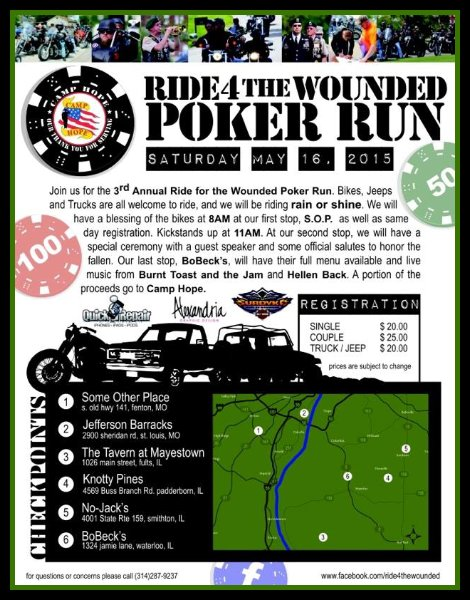 Poker Run 5-16-15