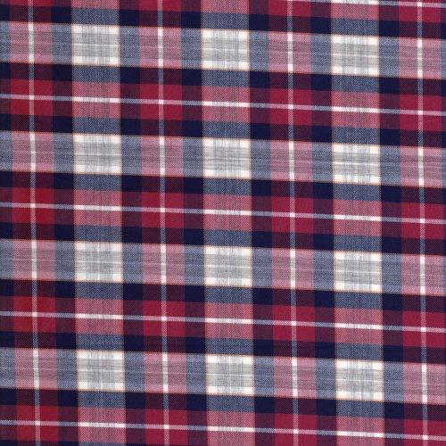 FC1290017 紅色白線格子 3尺6