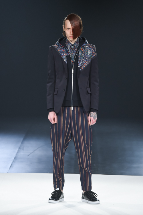 FW15 Tokyo yoshio kubo005_Milos Lukacek(Fashion Press)