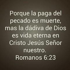 Romanos 6:23 #instabiblia