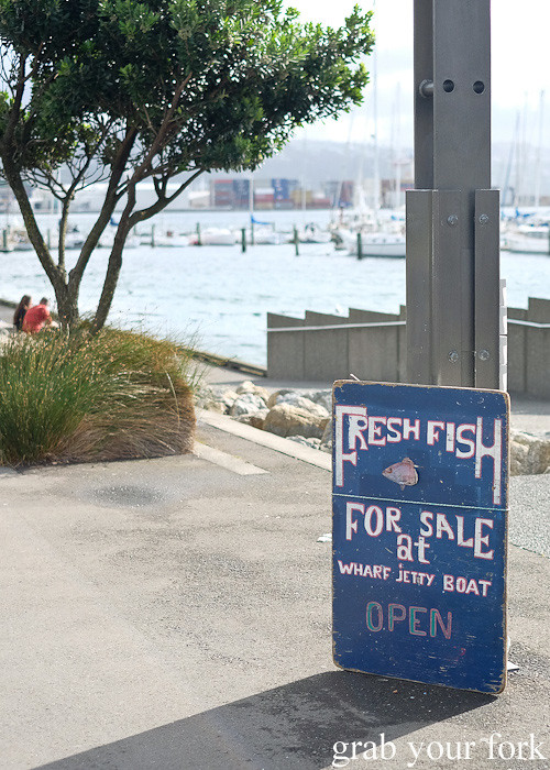 Fresh fish for sale at Harbourside Market, Wellington