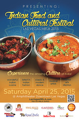 April 25 Indian Food and Cultural Festival, aka Las Vegas Mela @LasVegasMela