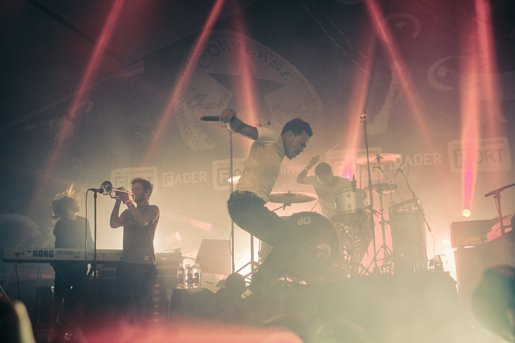 Chance the Rapper & The Social Experiment @ The FADER Fort 3.18.15