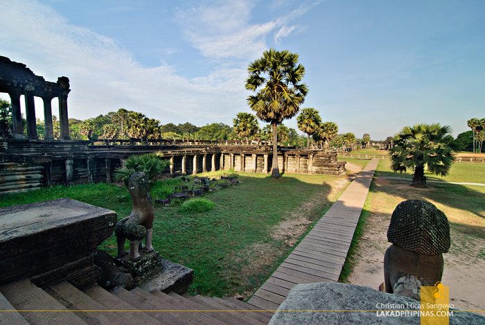 Angkor Wat Grounds in Siem Reap
