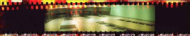 Bowling Lanes in Kodak Portra