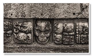 Copan HN - Mayan glyphs