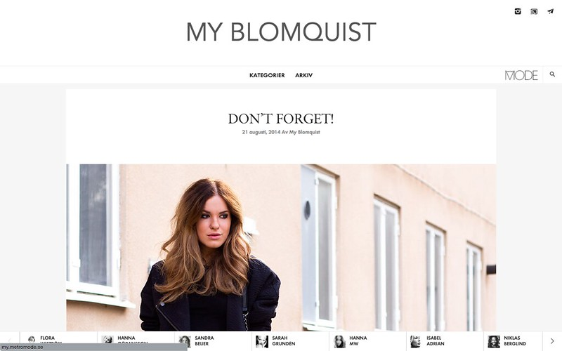 http://www.myblomquist.se