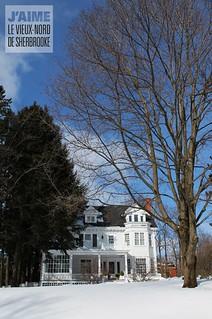 Maison Allen, rue Québec, Sherbrooke, Qc
