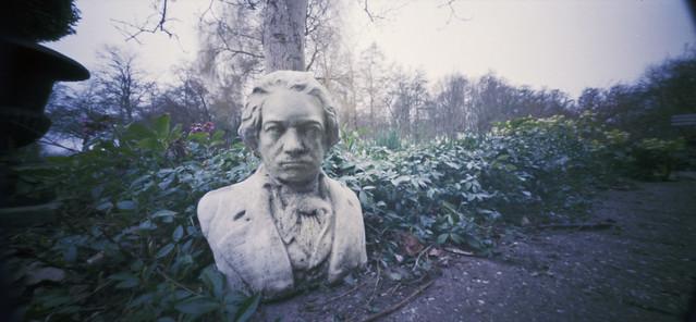 Classical garden pinhole