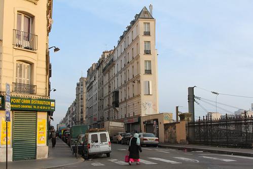 Rue Stephenson - Paris (France)
