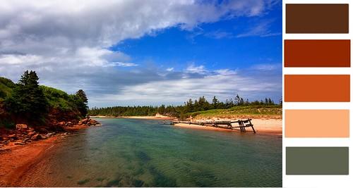 a beach in Canada