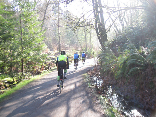 SIR Spring Populaire 2015 - Gravel riding in Cowen Park