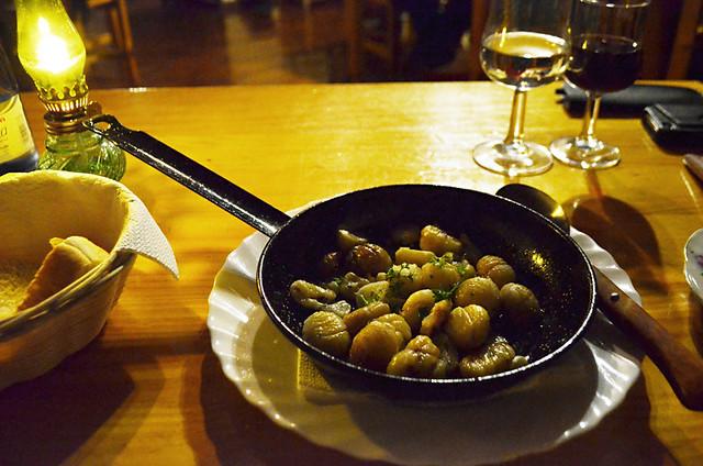 Garlic chestnuts, Tasquito de Nino, San Miguel, Tenerife