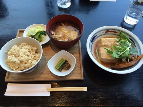 六本木 酢重ダイニング で花見ランチ 2015/4/2
