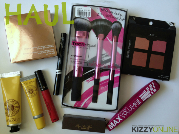 haul makeup purchases