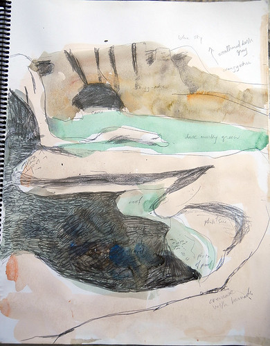 Sketch of Botanical Bay Rocks