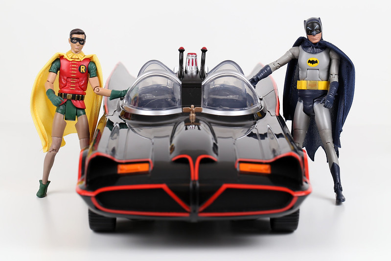 Batman Robin Batmobile