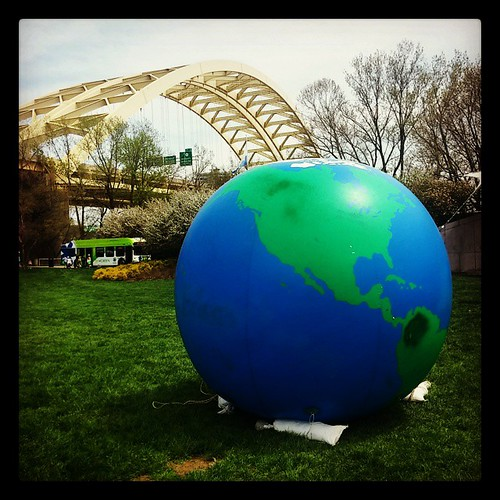 Celebrating Earth Day with @genmae5 ...