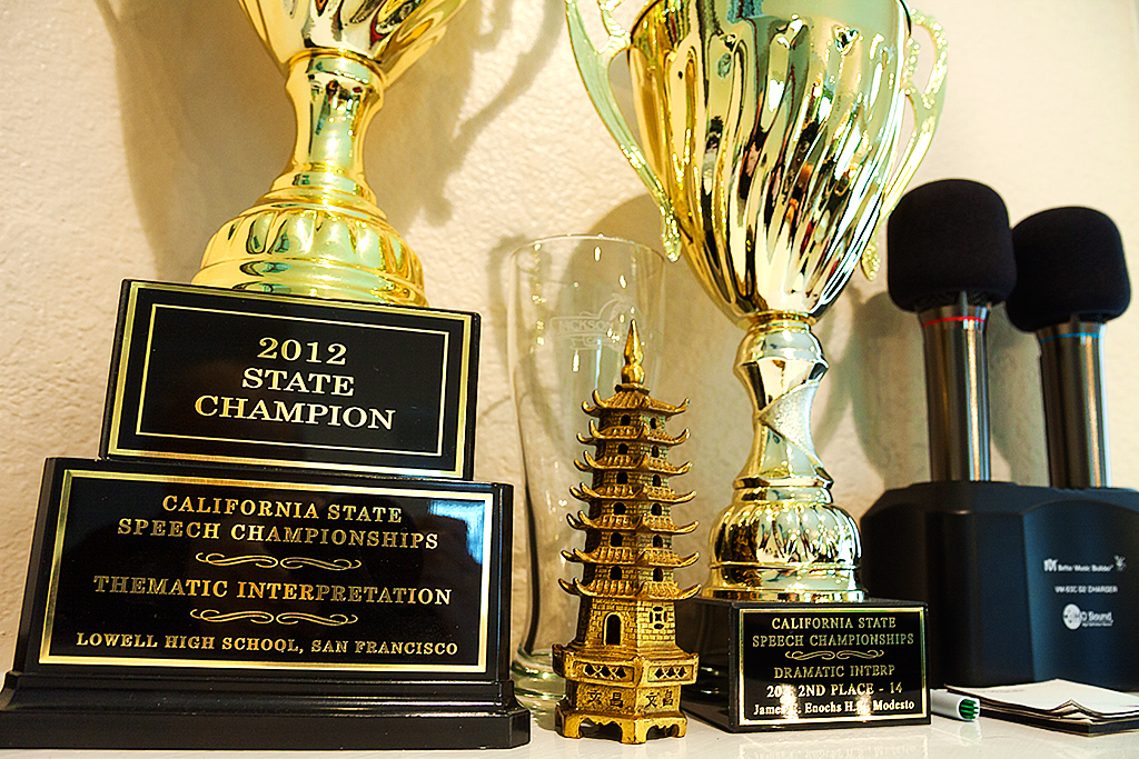 Speech-champion-trophies--Fremont