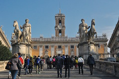 Walking Up Capitoline Hill, Rome