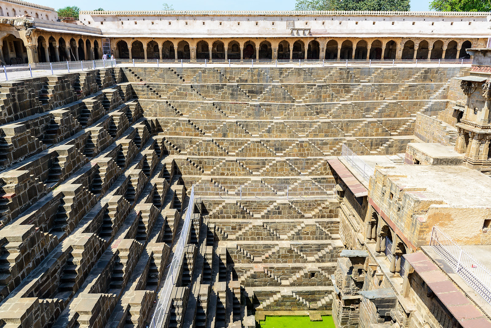 Chand Baori Stepwell, India