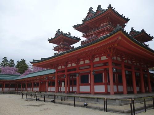 heinan jingu shrine 2