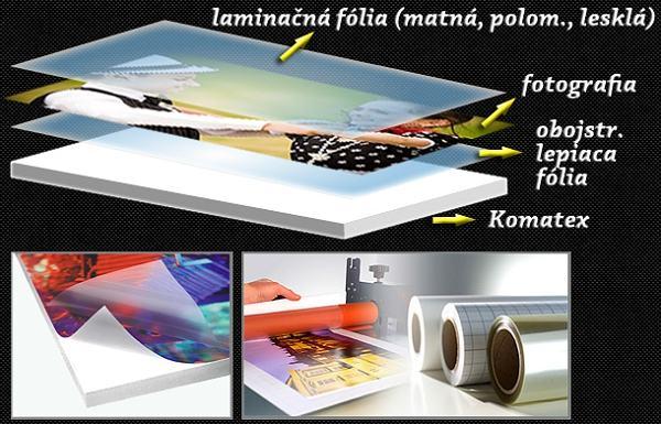 Foto na doske Komatex