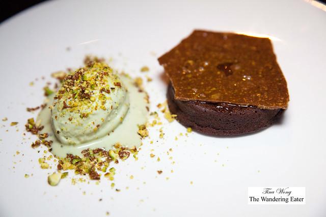Chocolate y Pistachios