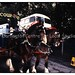 Courage Brewery  horse and carriage, Railway Carnival, Darlington, 1990s