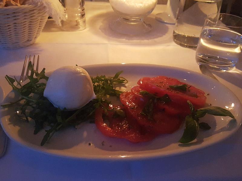 Terrazza Brunella Caprese Salad