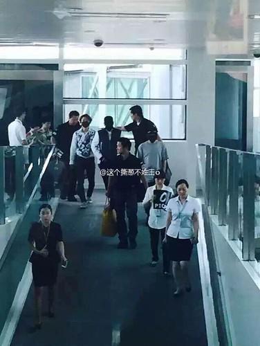 BIGBANG GDTOPDAE arrival Hangzhou 2015-08-25 152