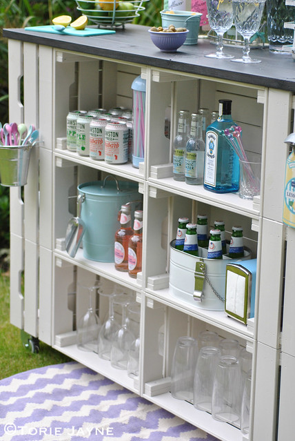 DIY outdoor bar 20
