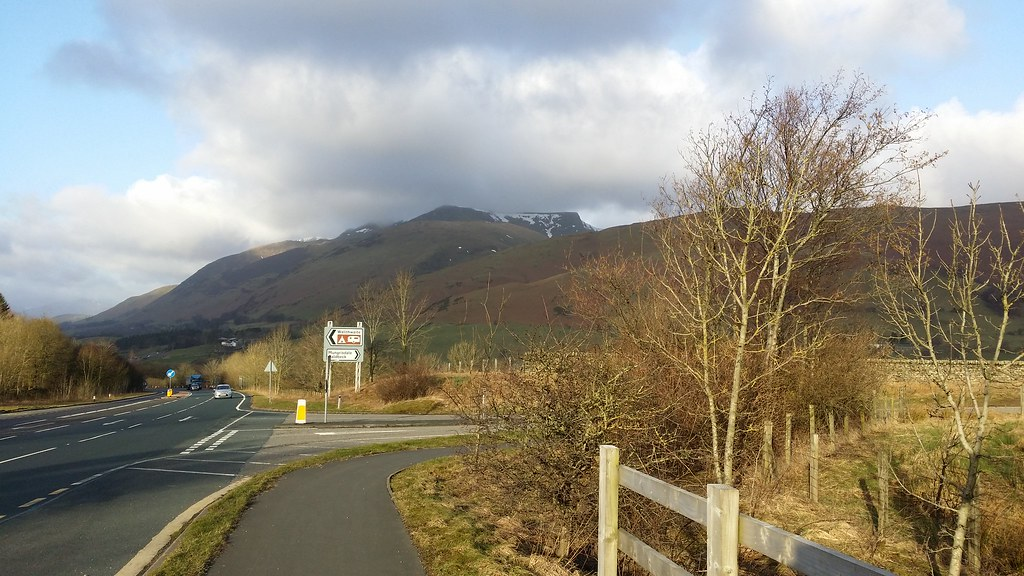 Blencathra from the bus stop