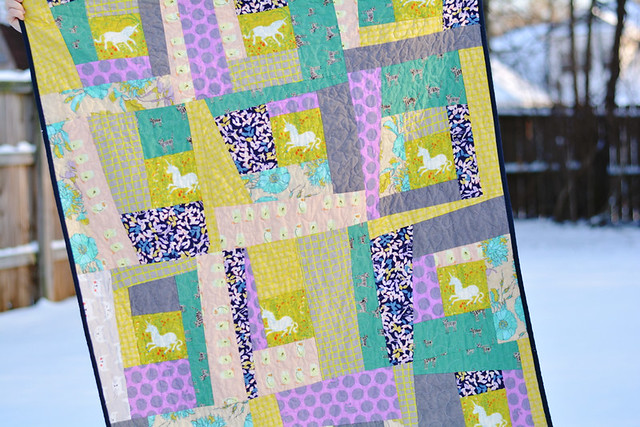 Tutorial: Wonky Log Cabin Block