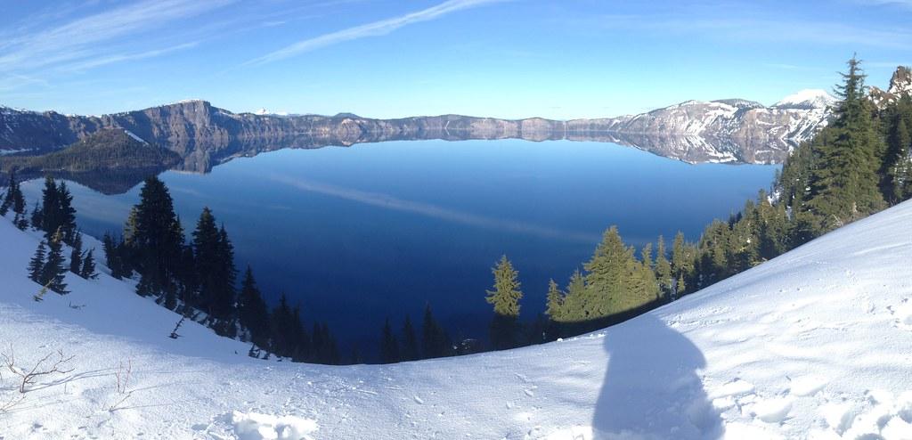 Panorama of Crater Lake by John