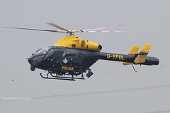 G-YPOL - 2000 build MD Helicopter MD900 Explorer, inbound to the Police ASU at Barton