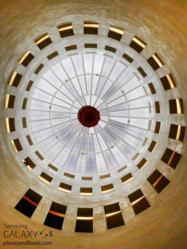 Leeum, Samsung Museum of Art Itaewon ceiling