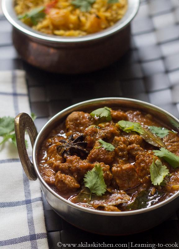 easy mutton masala