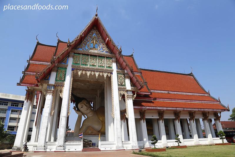 wat hat yai nai temple reclining buddha