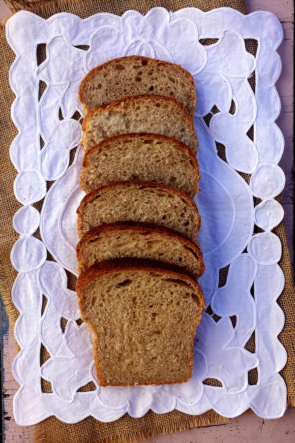 pan de molde semi-integral de espelta y trigo {con tang zhong}