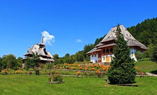 un colt de rai ....Manastirea Barsana ( a piece of heaven Barsana Monastery  ,Maramures Romania )