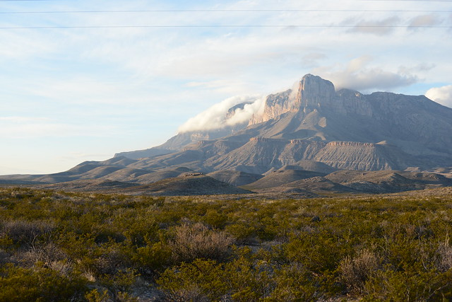 El Capitan at Guadalupe Mountains National Park
