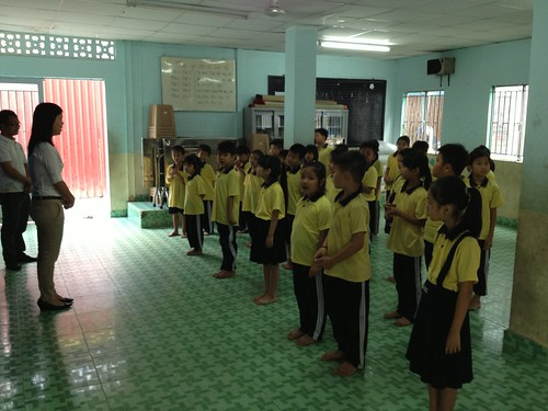 "A Workshop on the Topic of ""The Prevention of Sexual Exploitation in Children"" at the ""Classes of Love"" (lớp học tình thương) La Salle School"