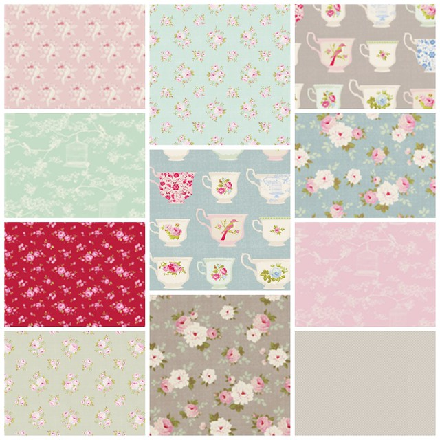 Tilda fabrics for sale in my Etsy Shop from £5 pm